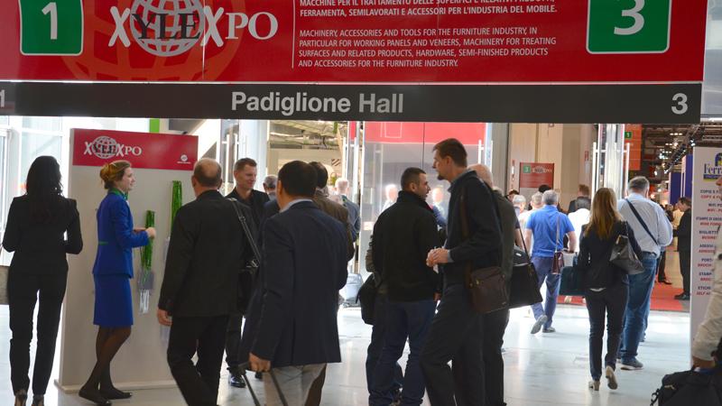 25a Biennale mondiale delle tecnologie per la lavorazione del legno e dei componenti per l'industria del mobile