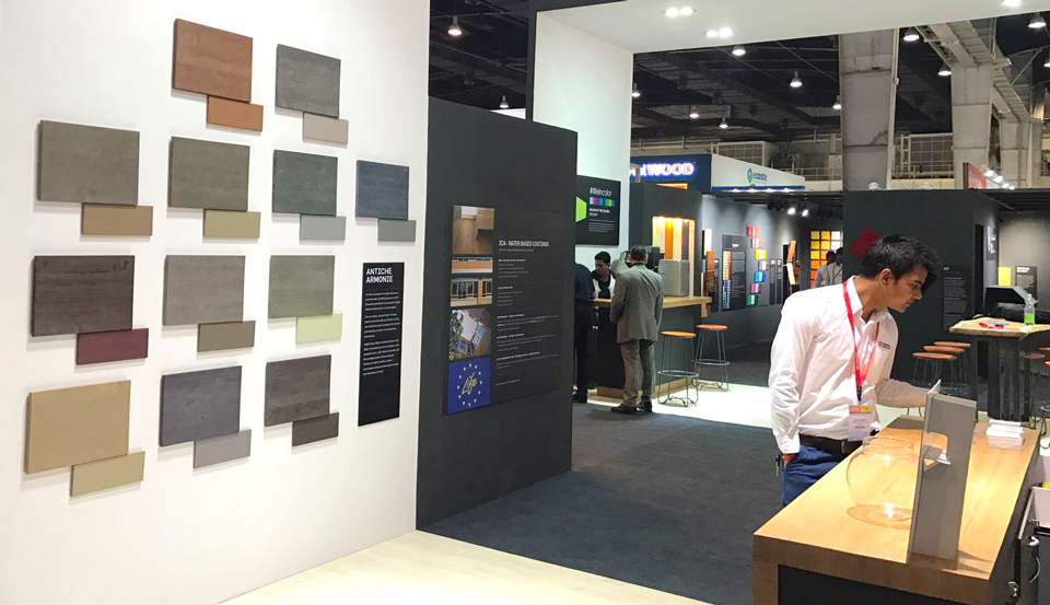 Fiera internazionale macchinari, attrezzi, accessori, materie prime e prodotti per la lavorazione del legno