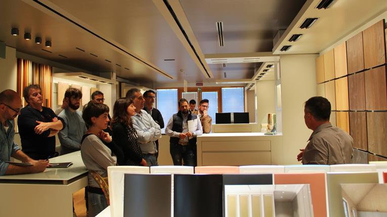 Insieme al COSMOB per una giornata di formazione tecnica nei nostri laboratori R&S