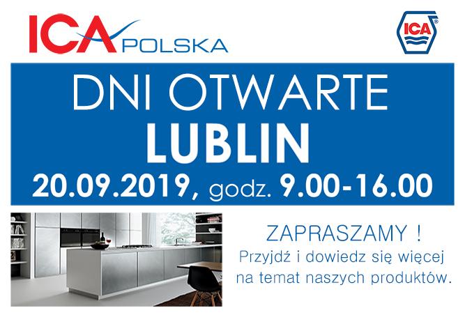Dzień Otwarty w Oddziale ICA POLSKA w LUBLINIE 20.09.2019, od 9:00 do 16.00.