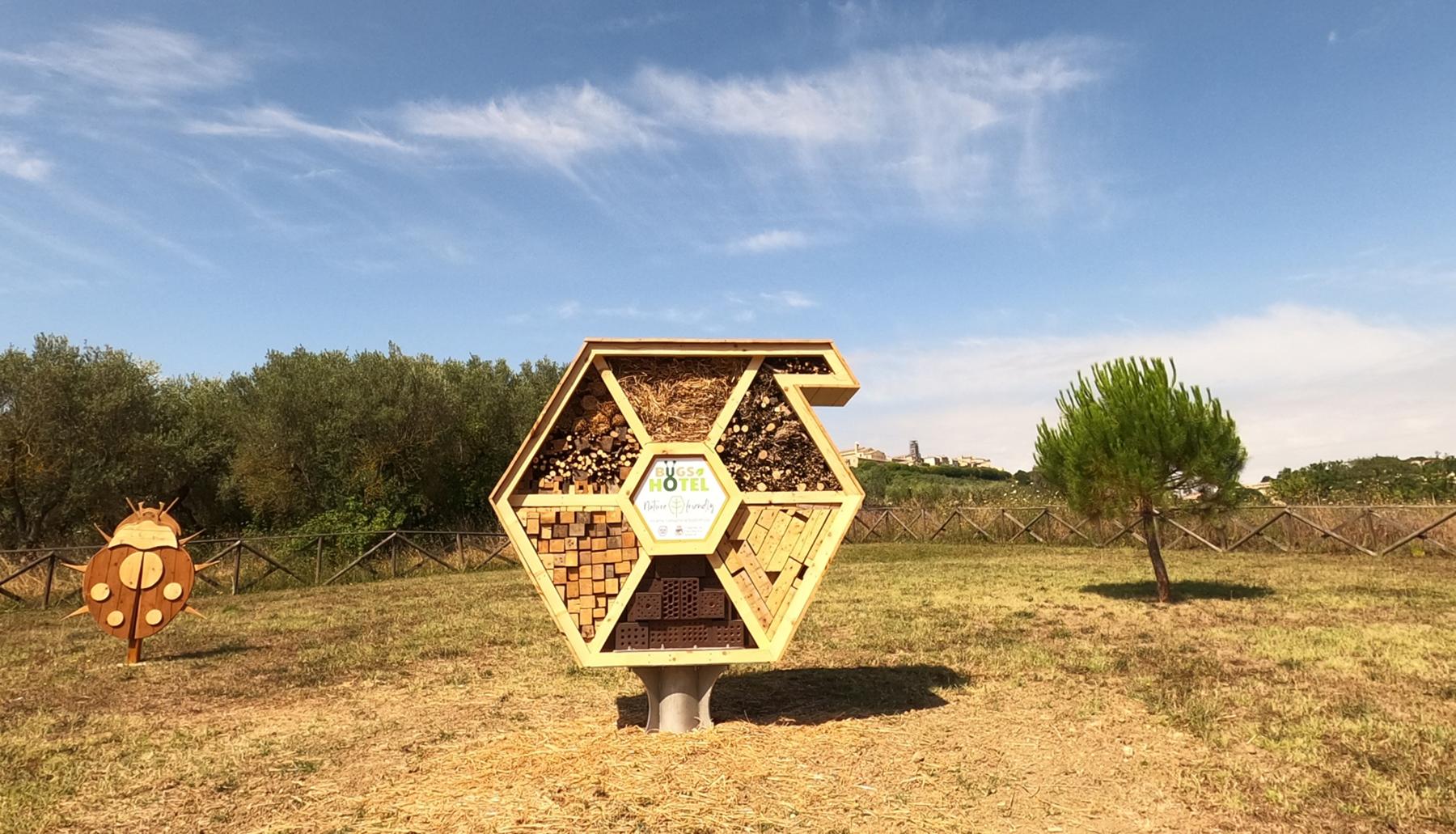 Stworzyliśmy przytulne schronienie, aby otoczyć opieką owady, które są pożyteczne dla naszego ekosystemu, ale także po to, żeby edukować przyszłe pokolenia.